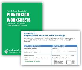 plan design worksheets for pure defined contribution health plans. Black Bedroom Furniture Sets. Home Design Ideas